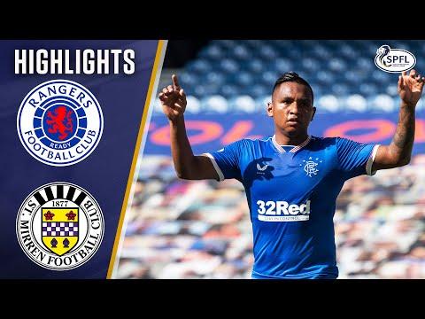 Rangers 3-0 St. Mirren   Alfredo Morelos Double Sinks Saints!   Scottish Premiership