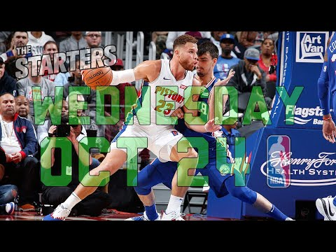 Video: NBA Daily Show: Oct. 24 - The Starters