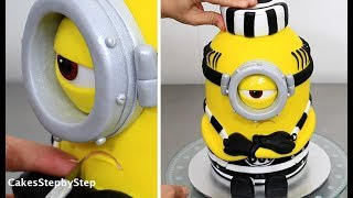 """How To Make a MINION CAKE by Cakes StepbyStepMore kids cakes:EMOJI CAKE How To Make by Cakes StepbyStephttps://youtu.be/V5Et0R_ZcgkAmazing KIDS CAKES Compilation! Minnie Mouse Peppa Pig SpongeBob by CakesStepbyStephttps://youtu.be/jdrY0P_JaI0Huge Kinder Surprise Cake with SURPRISE TOY Inside How To Make https://youtu.be/Z3-q41dNes0SHOPKINS CAKE Yo-Chi The Frozen Yogurt KAWAII Cake  https://youtu.be/imoj80z5MfEM&M's Kids Funny Birthday Cake - How Tohttps://youtu.be/meu1M6tnsvEAmazing KIDS CAKES Compilation! Minnie Mouse Peppa Pig SpongeBob by CakesStepbyStephttps://youtu.be/jdrY0P_JaI0To stay up to date with my latest videos, make sure to SUBSCRIBE to this YouTube channel (if you are not).To find out more about the items I use, please visit: http://www.cakesstepbystep.com/You can support this channel by sharing my videos. Thank you.************************FOLLOW ME*********************************FACEBOOK     https://www.facebook.com/cakesstepbystep/*INSTAGRAM  http://instagram.com/cakesstepbystep/CakesStepbyStep is about cakes and cupcakes decorating with fondant and buttercream frosting. Also you can watch simple chocolate decoration techniques and cake recipes. Learn with me basic cake decoration techniques which will help you to decórate your own cake masterpiece. ***********HAVE FUN!Music credit:""""Buddy"""" Bensound.comhttp://www.bensound.com/royalty-free-musicLicensed under Creative Commons: By Attribution 3.0https://creativecommons.org/licenses/by-nd/3.0/legalcode""""Little idea"""" Bensound.comhttp://www.bensound.com/royalty-free-musicLicensed under Creative Commons: By Attribution 3.0https://creativecommons.org/licenses/by-nd/3.0/legalcode""""Sunny"""" Bensound.comhttp://www.bensound.com/royalty-free-musicLicensed under Creative Commons: By Attribution 3.0https://creativecommons.org/licenses/by-nd/3.0/legalcode""""Sweet"""" Bensound.comhttp://www.bensound.com/royalty-free-musicLicensed under Creative Commons: By Attribution 3.0https://creativecommons.org/licenses/by-nd/3.0/legalc"""