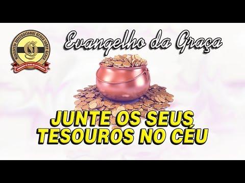 JUNTE OS SEUS TESOUROS NO CÉU