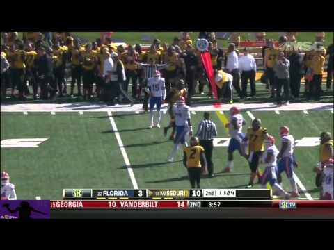 Maty Mauk vs Florida 2013 video.