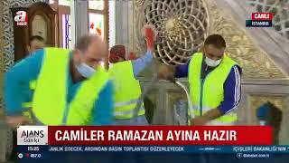 Camilerimizi Temizleyerek Ramazan Ayına Hazırlıyoruz - A Haber