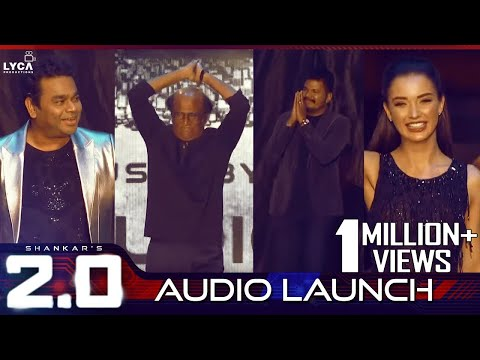 2.0 Audio Launch Full Event From Lyca productions | 2 Point O Song Release Function