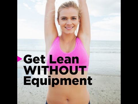 At-Home No Equipment Workout to Get Fit and Burn Calories