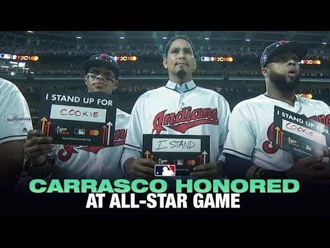 Video: Indians pay tribute to Carlos Carrasco