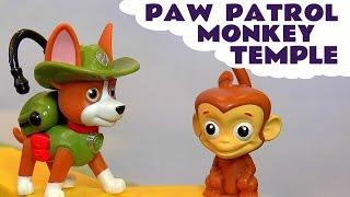 Paw Patrol Monkey Temple
