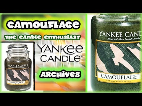 Yankee Candle - CAMOUFLAGE - Man Candles Collection - NEW SERIES Review