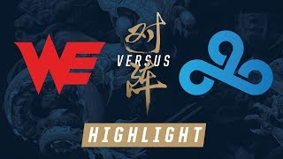 WE vs. C9 Worlds Quarterfinals Match Highlights 2017 by League of Legends Esports