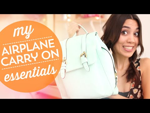 My Airplane Carry-On Essentials! ✈
