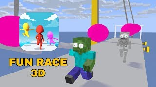 Video Monster School : FUN RACE 3D CHALLENGE - MINECRAFT ANIMATION MP3, 3GP, MP4, WEBM, AVI, FLV Agustus 2019