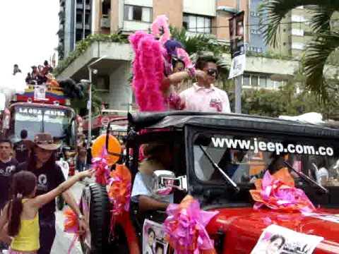 Desfile del Reinado Empresarial del Tolima