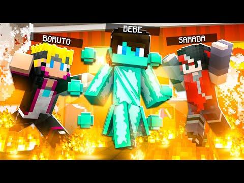 Minecraft: Who's your family O FILHO DO BORUTO E DA SARADA DESPERTOU O TEISEIGAN ✭ Guihh ✭
