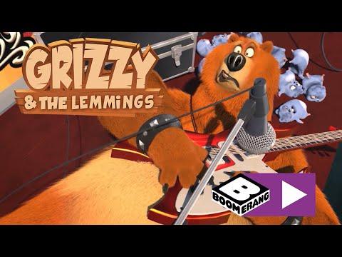 Grizzy şi lemingii | Lemingii cântă rock | Boomerang