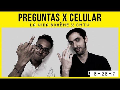 La Vida Boheme video #Preguntas x celular - Argentina | Agosto | 2017
