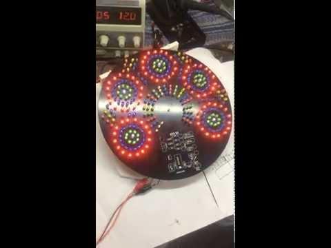 led circuit pattern design