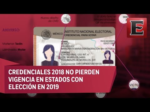 INE actualiza el modelo de la Credencial para Votar
