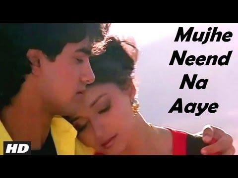 Mujhe Neend Na Aaye - Dil - HD Song