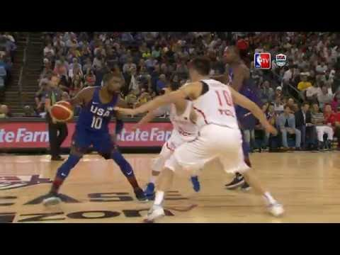 USA vs China Exhibition Game Full Highlights 07.26.16 (видео)