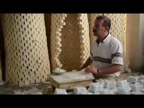 Siria: Así se fabrican los jabones artesanales.