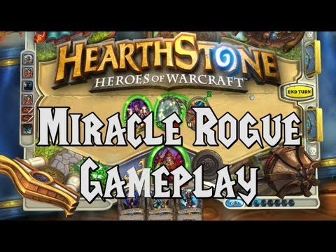 rogue website - Today we will be taking the 'Miracle Rogue' deck through it's paces by pacing off against several high level players. Watch the 'Miracle Rogue' spotlight her...