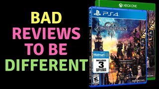 Kingdom Hearts 3 Release Goofs & Bad Reviews To Be Different!