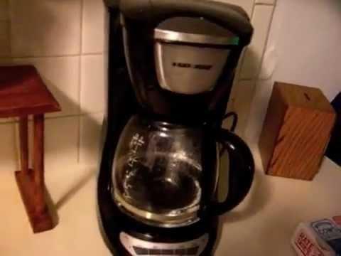 Black & Decker DCM100b Coffee Maker Review