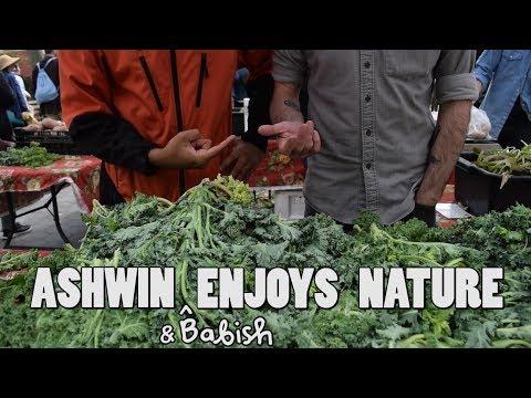 Ashwin Enjoys Nature - Foraging with Babish
