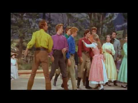 Seven Brides for Seven Brothers (1954) - Barn Dance (HD)