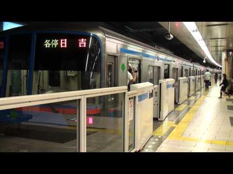 東急目黒線目黒駅 Tokyo Tokyu Railway Meguro Station