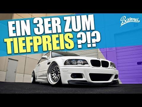 EIN 3ER ZUM TIEFPREIS ?!? BMW E46 GEBRAUCHTWAGENTIPP (DAS ORIGINAL) - BAVMO