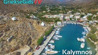 Dronevideo / Luchtvideo Kalymnos - GriekseGids.TV