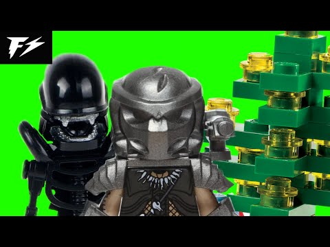 LEGO Alien Vs. Predator Christmas Special 3