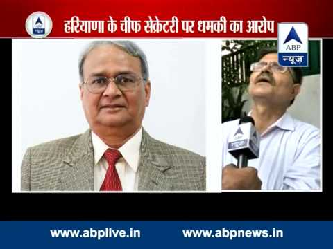 Haryana Chief Secy threatened me via SMS l claims senior IAS officer Pradeep Kasni 29 July 2014 05 PM