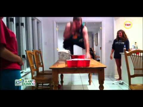 Sprite Beer Pong Slam Dunk Contest