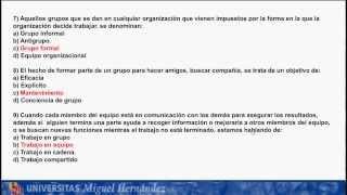 Umh1002 Psicología 2. Examen Junio Curso 2012-13