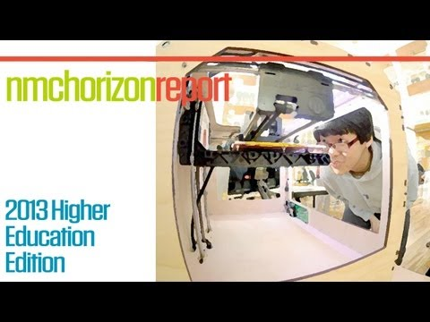 3D Printing & Remote Laboratories are now on the educational horizon [NMC Report]