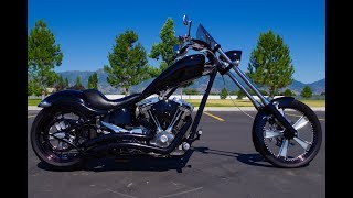 2. FOR SALE 2007 BIG DOG K9 CUSTOM SOFTAIL CHOPPER MOTORCYCLE LIMITED EDITION! Harley Davidson! $18,998