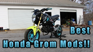7. Best Honda Grom Mods