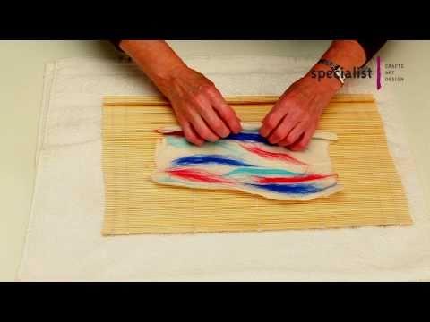 Technique Focus Felting - Making Felted Fabric