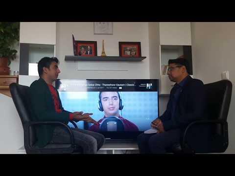 Video Interview of  Singer Thaneshwor Gautam with Shiva Sapkota download in MP3, 3GP, MP4, WEBM, AVI, FLV January 2017