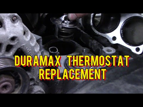 Mechanics Minute Ep 3. –  Duramax Thermostat Replacement