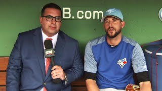 Toronto Blue Jays relief pitcher Ryan Tepera sits down with Arash Madani to talk about his performance on the mound this season.