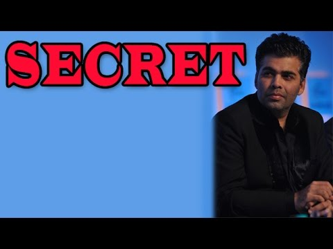 Karan Johar Reveals His Secret