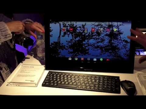 Lenovo N308 Android Desktop All-In-One,  CES2014 First Look