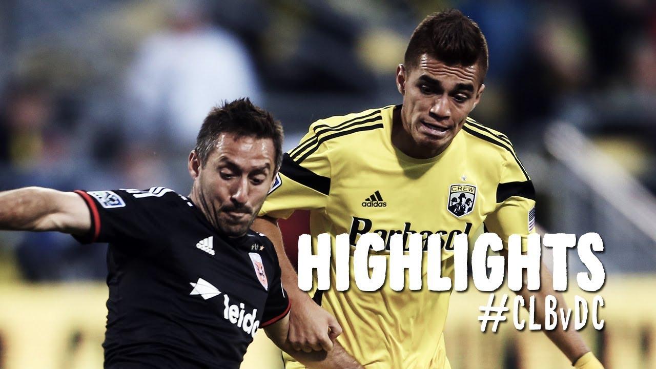 HIGHLIGHTS: Columbus Crew vs. D.C. United | April 19, 2014