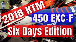 10. 2018 KTM 450 EXC-F Six Days edition