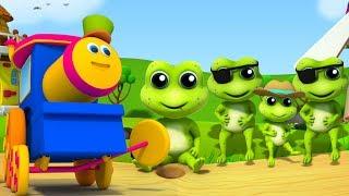 Video bob kereta | lima kodok kecil berbintik | lagu anak-anak | Kids Song | Five Little Speckled Frogs MP3, 3GP, MP4, WEBM, AVI, FLV Februari 2019