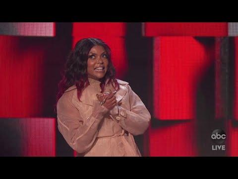 Host Taraji P. Henson Starts the 2020 AMAs - The American Music Awards