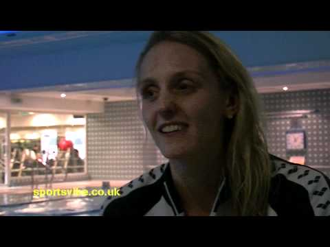 Fran Halsall talks swimming, cats and competing