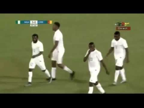 Nigeria vs Cameroon 3 - 0 ALL GOALS (Friendly 2015)